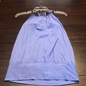 Lululemon workout top with support bra.  Size 4